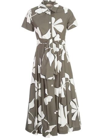 Gentry Chemisier S/s Dress W/flowers Printing