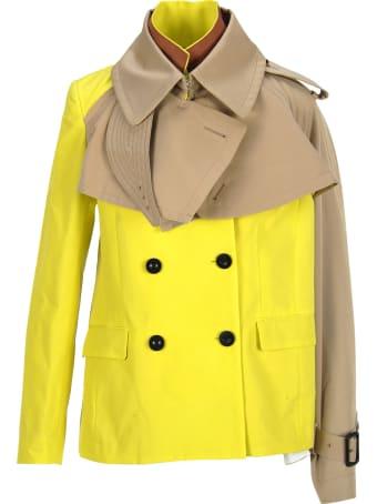 Sacai Sacai Layered Trench Jacket