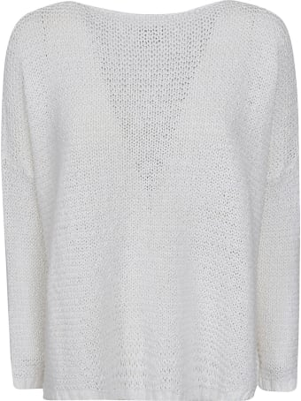 f cashmere Knitted Oversized Top