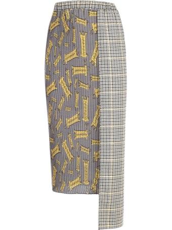 Ultrachic Skirt Pencil Plisse Double Fantasy