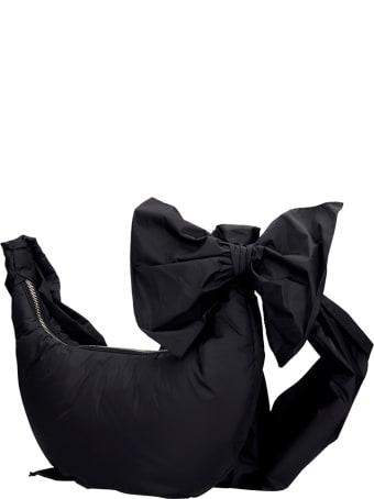 RED Valentino Shoulder Bag In Black Nylon
