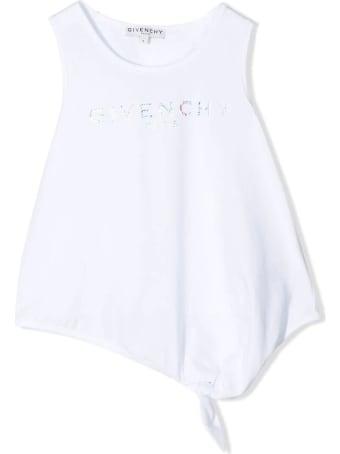 Givenchy White Cotton Tank Top