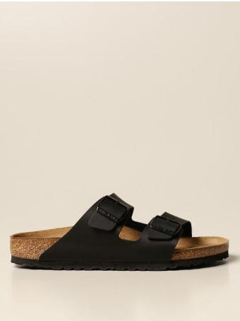 Birkenstock Shoes Arizona Birkenstock Slipper Sandal In Nubuck