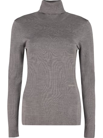 Burberry Turtleneck Merino Wool Sweater