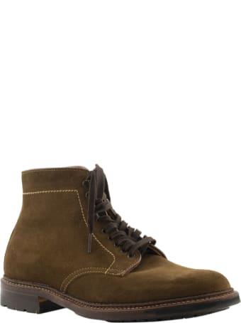 Alden Plain Toe Boot Snuff Suede 4511hc