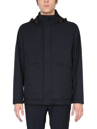 Z Zegna Technical Fabric Jacket