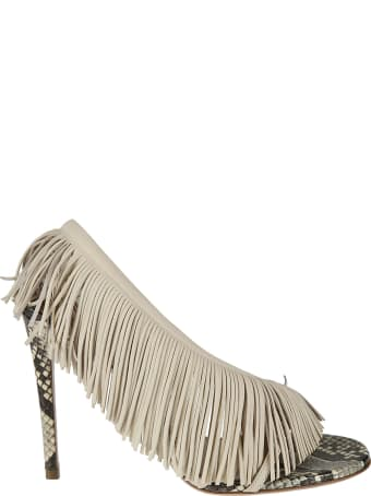Aquazzura Wind Fringe Sandals