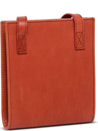 Jacquemus Le Gadjo Crossobody Bag In Brick Red Leather