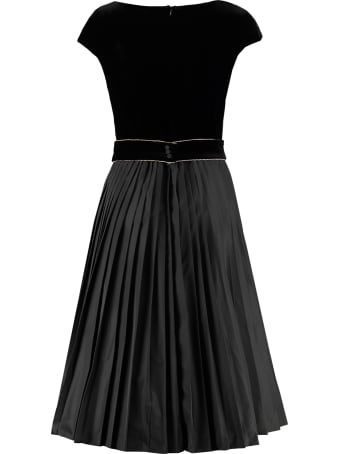 Max Mara Studio Austero Pleated Skirt Dress