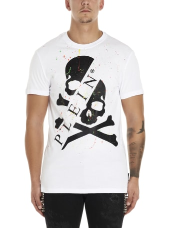 Philipp Plein 'painting Logo' T-shirt