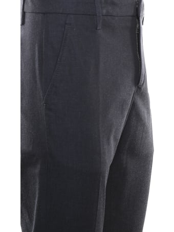 Dondup Slim Chino Trousers In Cotton Blend