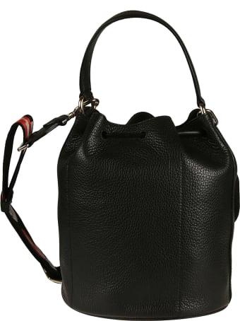 Furla Small Sleek Drawstring Logo Detail Bucket Bag