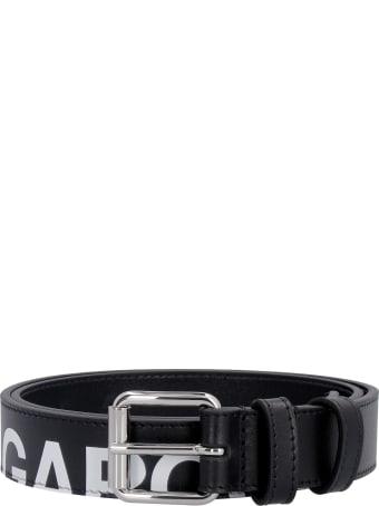Comme des Garçons Wallet Leather Belt With Buckle