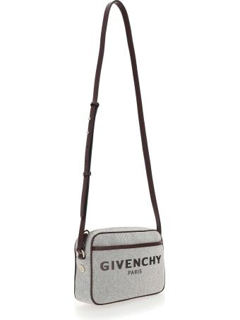 Givenchy Embroidered Logo Crossbody Bag