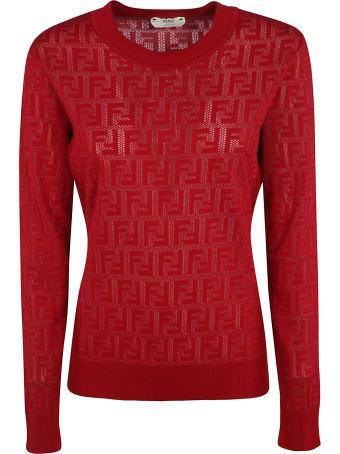 Fendi Ff Cotton Sweater