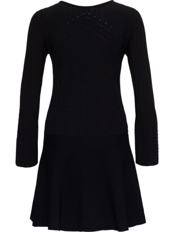 Alberta Ferretti Stretch Viscose Dress