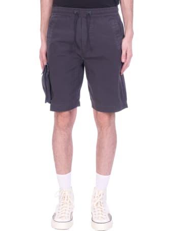 Maharishi Shorts In Black Cotton