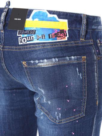 Dsquared2 Dsquared2 Slim Fit Jeans - BLU - 10794217   italist