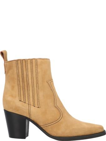 Ganni 'western' Shoes