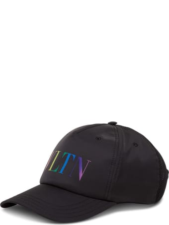 Valentino Garavani Vltn Logo Baseball Cap