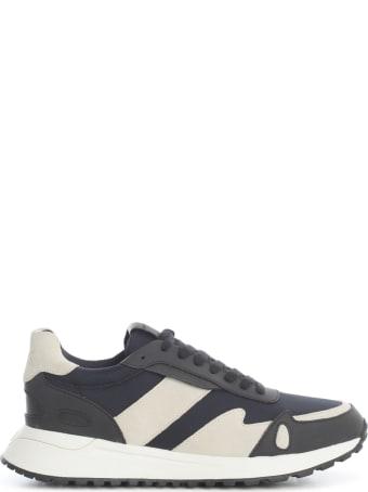 Michael Kors Miles Tech Canvas Rubberized Fabric Sport Suede Sneakers