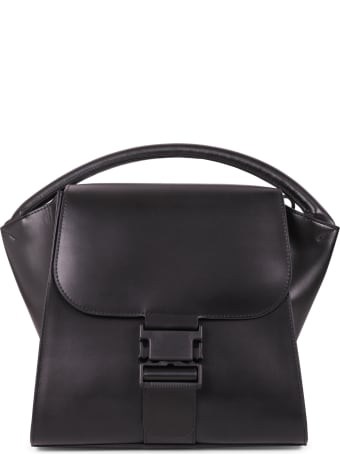 Zucca Black Buckled Bag M