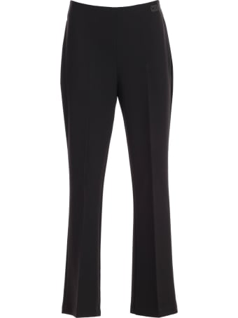 Be Blumarine Pants Flared Cady W/side Zip