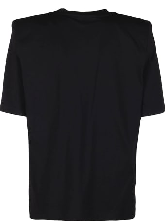 The Attico Black Cotton T-shirt
