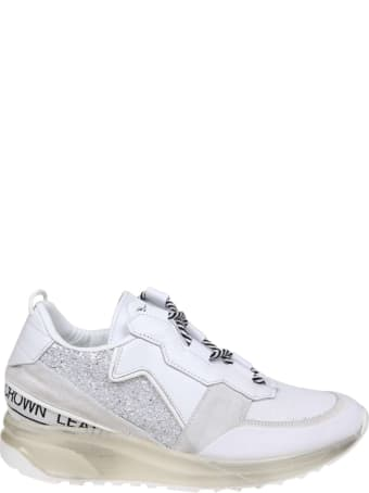 Leather Crown Sneakers Aero Leather And Suede
