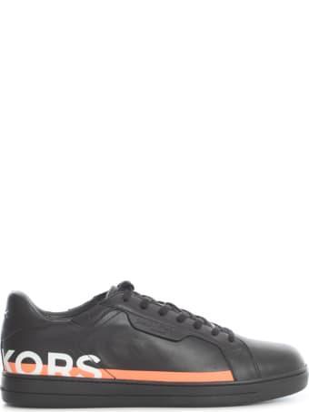 Michael Kors Keating Nappa Leather Sneakers