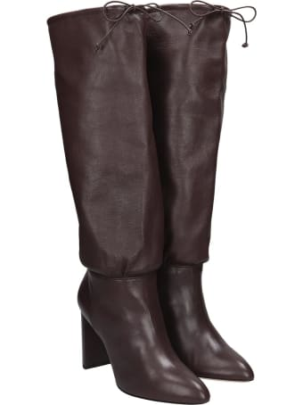 Dei Mille Boots In Brown Leather