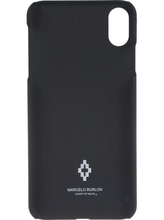 Marcelo Burlon Leopard Wings Iphone Xs Max Case
