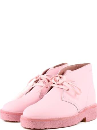 Clarks Desert Boot Pink