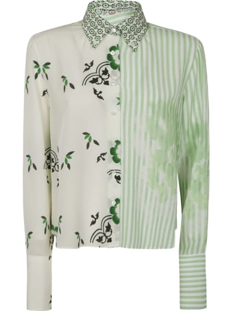 Ermanno Scervino Multi Printed Shirt