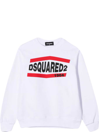 Dsquared2 White Teen Sweatshirt