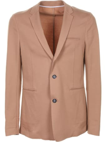 Paolo Pecora Single-breasted Hazelnut Jacket