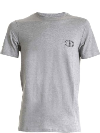 Dior Homme Dior Cd Embroidered Gray T-shirt