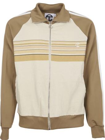 Telfar Beige Sweatshirt With Zip