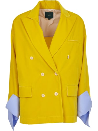 Jejia Yellow Oversize Jacket