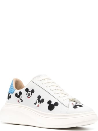 M.O.A. master of arts Oversize Sneakers With Mickey Mouse Print