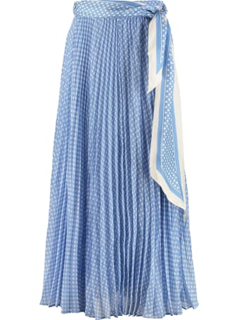 Zimmermann Sunray Printed Pleated Skirt