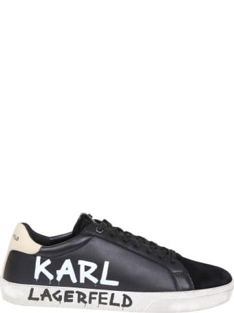 Karl Lagerfeld Skool Sneakers With Logo
