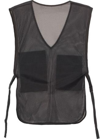 Off-White Mesh Fabric Vest