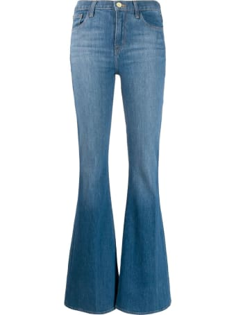 J Brand Flared Cotton Jeans