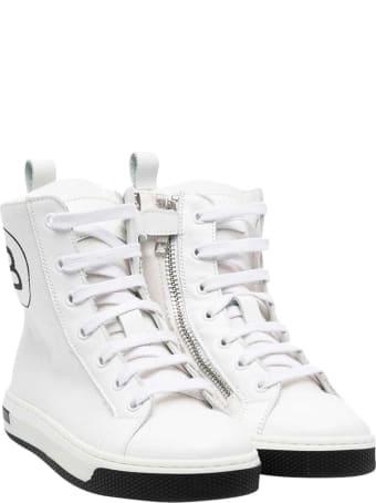 Balmain White Sneakers Teen