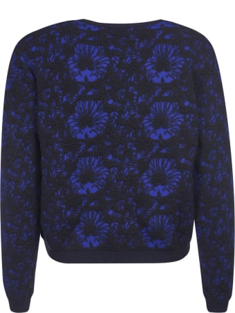 Kristina Ti Floral Embroidered Sweater