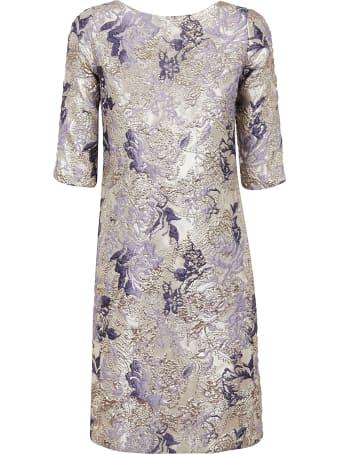 Charlott Brocade Dress