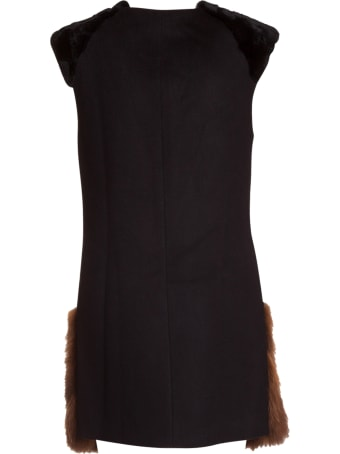 Bully Fur Applique Vest