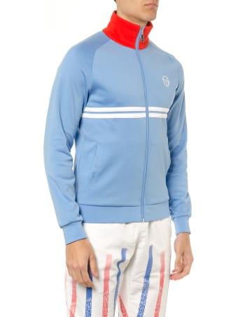 Sergio Tacchini Azul & White Technical Knitwear
