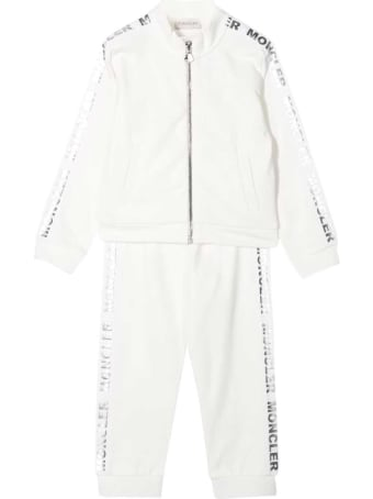 Moncler White Sporty Tracksuit